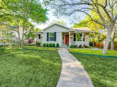 Dallas Single Family Home For Sale: 10856 Colbert Way