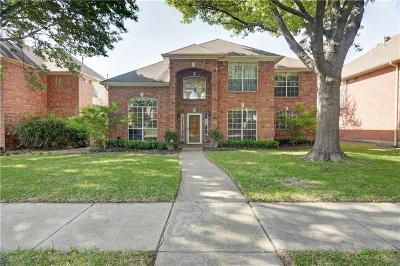 Plano TX Single Family Home Active Option Contract: $359,900