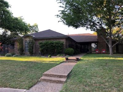 Plano Single Family Home Active Option Contract: 1829 Pleasant Valley Drive