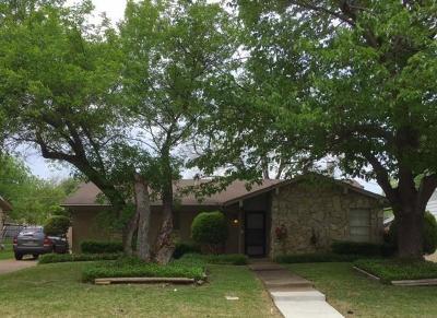 Arlington Single Family Home Active Option Contract: 1702 Barton Drive