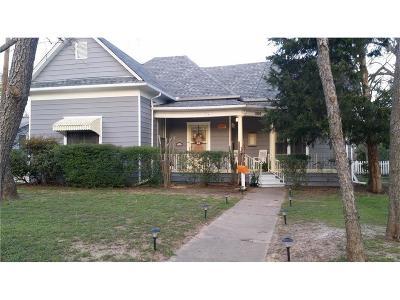Denton Single Family Home For Sale: 1100 Bolivar Street