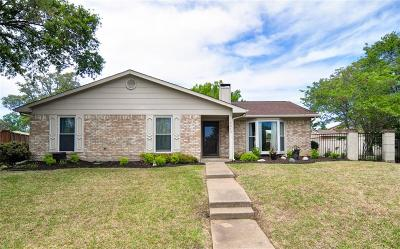 Carrollton Single Family Home Active Option Contract: 2013 Clermont Court