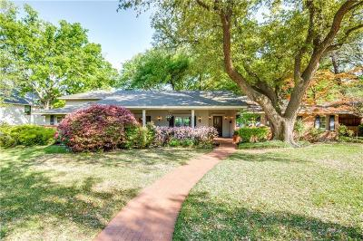 Dallas Single Family Home For Sale: 7242 Brookcove Lane