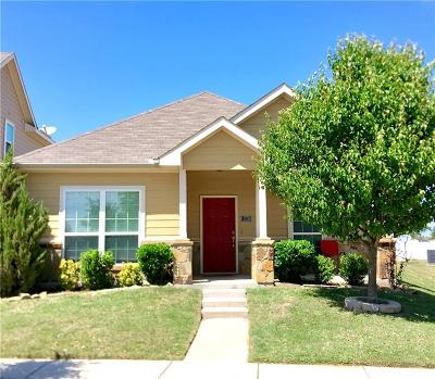 Fort Worth Single Family Home Active Option Contract: 11036 Dillon Street