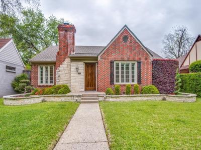 Dallas Single Family Home For Sale: 4312 Vandelia Street