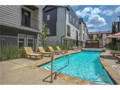 Dallas Townhouse For Sale: 4211 Rawlins Street #642