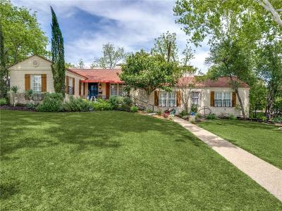 Fort Worth Single Family Home For Sale: 6008 El Campo Avenue