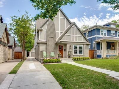 Dallas Single Family Home For Sale: 5243 Vickery Boulevard