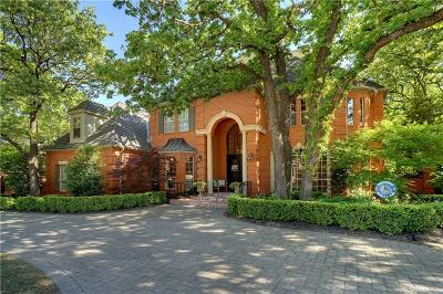 Colleyville Single Family Home For Sale: 3001 Edgewood Lane