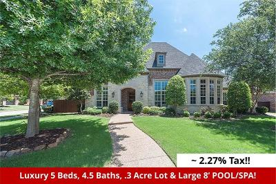 McKinney Single Family Home For Sale: 3301 Drip Rock Drive