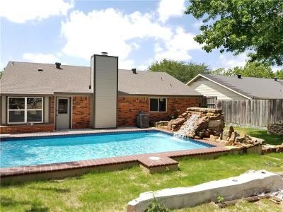 Saginaw Single Family Home Active Option Contract: 808 Mustang Drive