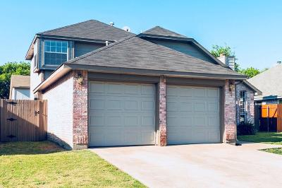 Haltom City Single Family Home Active Option Contract: 4121 Judith Way