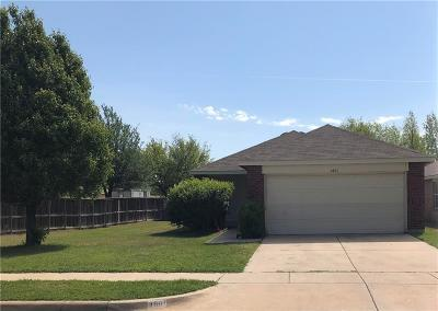 Fort Worth Single Family Home For Sale: 4801 Waterford Drive