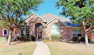 Frisco Single Family Home Active Option Contract: 7716 Ravenhill Drive