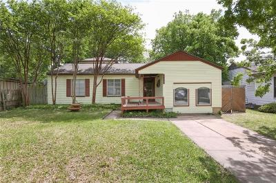 Garland Single Family Home For Sale: 1452 Dent Street