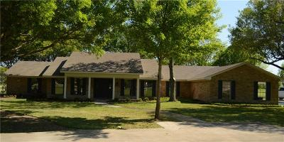 Ennis Single Family Home For Sale: 3101 Country Club Road