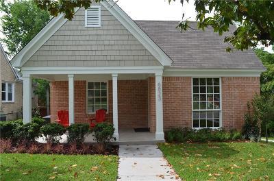Dallas Single Family Home For Sale: 6823 Santa Fe