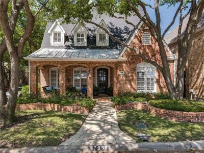 Dallas TX Single Family Home For Sale: $1,275,000