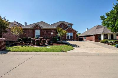 McKinney Single Family Home Active Contingent: 8105 Twin Oaks Drive