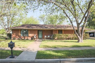 Ennis Single Family Home Active Option Contract: 1412 Hillcrest Street