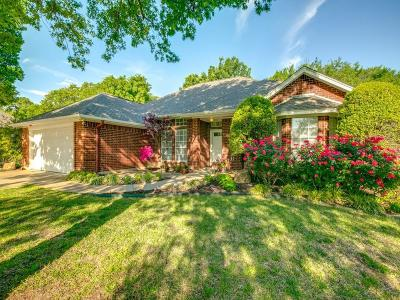 North Richland Hills Single Family Home Active Option Contract: 8805 Hilary Court