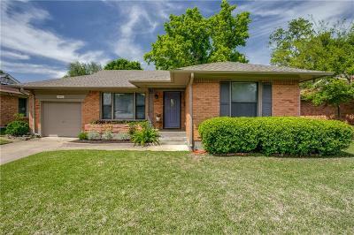 Dallas Single Family Home For Sale: 3207 San Marcus Avenue