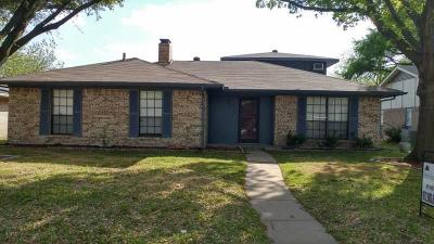 Garland Residential Lease For Lease: 2810 Green Oaks Drive