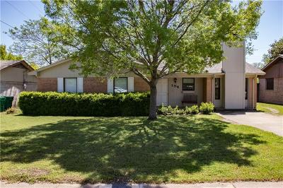 Cedar Hill Single Family Home Active Contingent: 104 Capricorn Drive