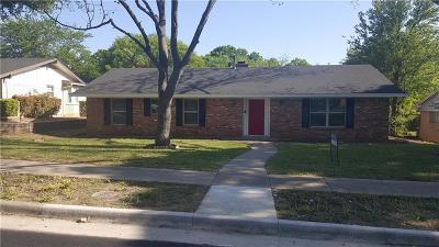 Dallas Single Family Home For Sale: 2536 Club Manor Drive