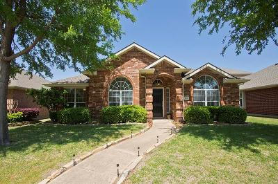 Allen TX Single Family Home Active Option Contract: $250,000