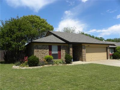 Arlington Single Family Home Active Option Contract: 327 Iberis Drive