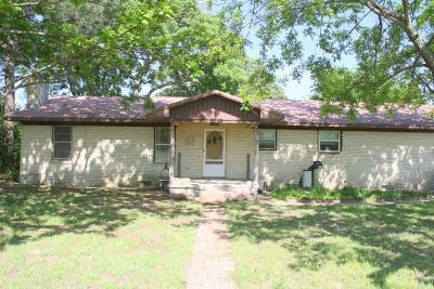 Canton TX Single Family Home For Sale: $135,000