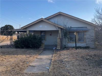 Fort Worth Single Family Home For Sale: 5501 Fletcher Avenue