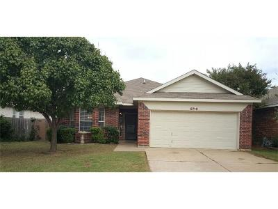 Fort Worth Residential Lease For Lease: 8716 Arcadia Park Drive