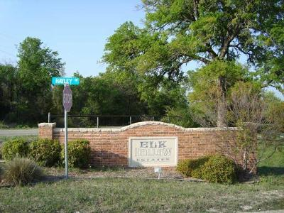 Weatherford Residential Lots & Land For Sale: 1r Elk Hollow Lane