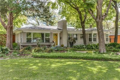 Dallas Single Family Home For Sale: 9958 Galway Drive