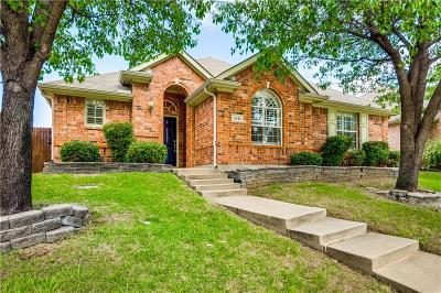 Carrollton Single Family Home For Sale: 3641 Stockton Drive