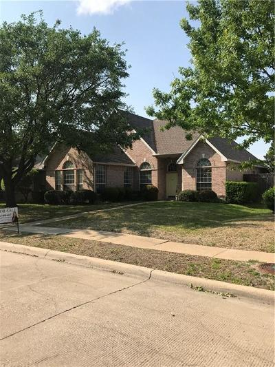 Mesquite Single Family Home For Sale: 823 Sumner Drive