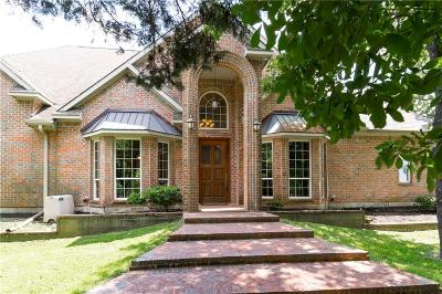 Keller Single Family Home Active Contingent: 910 Mount Gilead Road