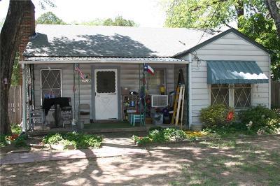 Haltom City Single Family Home Active Option Contract: 3029 Haltom Road
