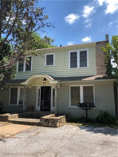 Fort Worth Multi Family Home For Sale: 1511 Clover Lane