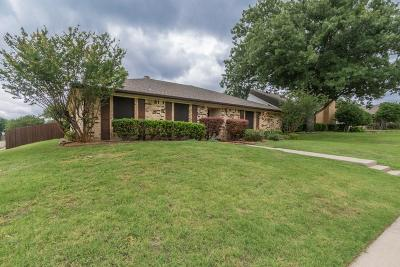 Plano Single Family Home Active Option Contract: 4461 Denver Drive