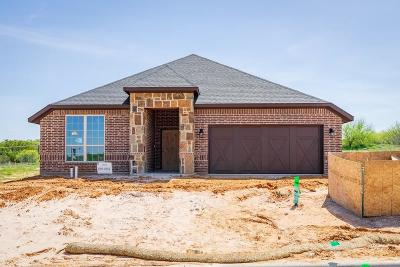 Weatherford Single Family Home For Sale: 1520 Town Creek Circle