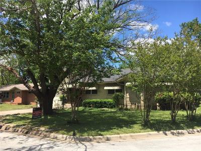 Arlington TX Single Family Home For Sale: $190,000