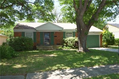 Dallas Single Family Home For Sale: 10415 Cayuga Drive