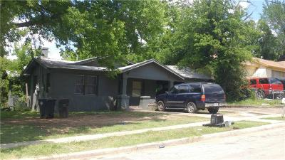 Fort Worth Single Family Home For Sale: 3229 Denman Street