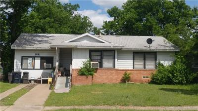 Fort Worth Single Family Home For Sale: 3313 Hatcher Street