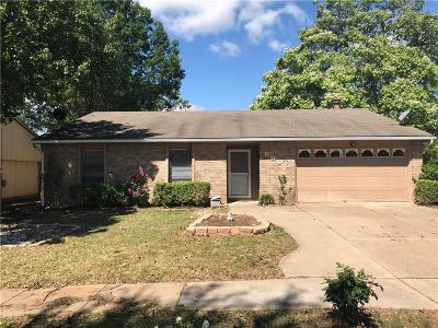 Garland Single Family Home Active Option Contract: 6005 Martie Lane