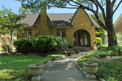 Dallas Single Family Home For Sale: 1426 Hollywood Avenue
