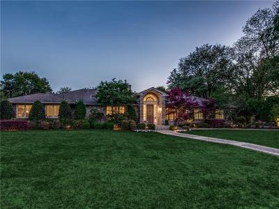 Dallas TX Single Family Home For Sale: $1,995,000